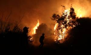 Φωτιά Βαρνάβας: «Θρίλερ» με αγνοούμενο άνδρα (vid)