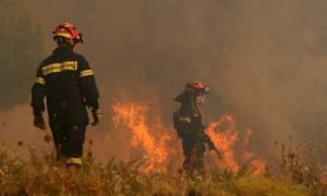 Φωτιά Κάλαμος: Εκκενώνονται δύο στρατόπεδα