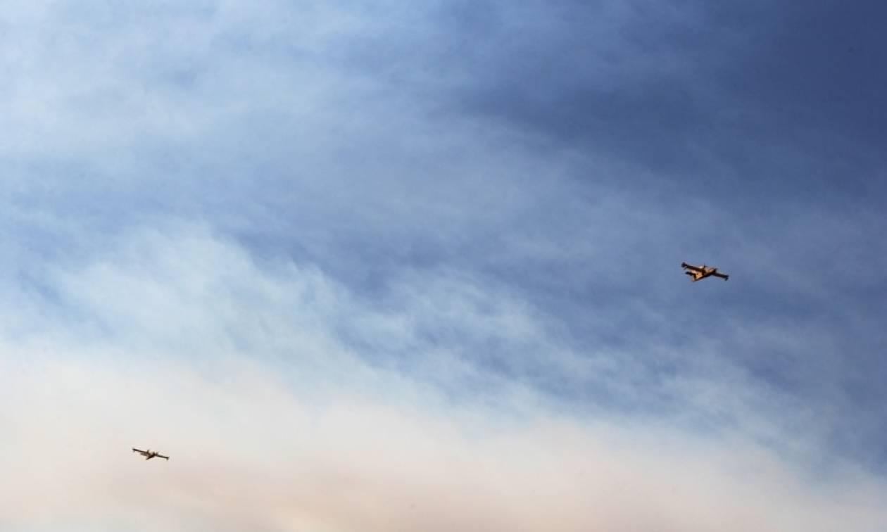 Φωτιά Κάλαμος Live – Η φωτογραφία που πρέπει να δείτε ΟΛΟΙ – Οι καπνοί έφτασαν μέχρι την Κρήτη
