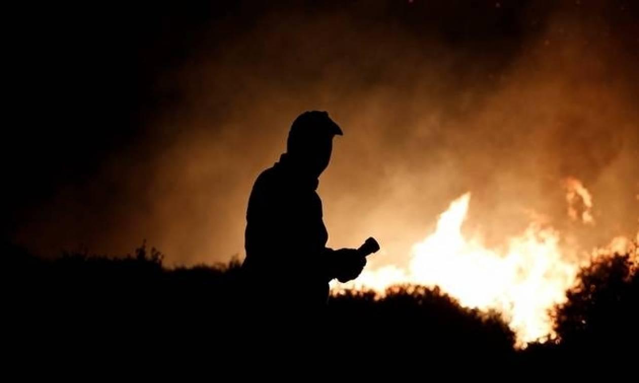 Σε ύφεση η φωτιά στο Κούμπερι της Αχαΐας