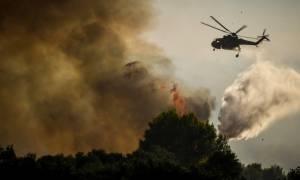 Φωτιά: Ανακοίνωση της Γενικής Γραμματείας Πολιτικής Προστασίας