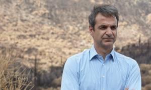 Μητσοτάκης: Όχι στην επικοινωνιακή διαχείριση στην προστασία των πολιτών από τις πυρκαγιές