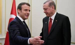 Τηλεφωνική επικοινωνία Μακρόν-Ερντογάν - Την ανησυχία του εξέφρασε ο Γάλλος Πρόεδρος