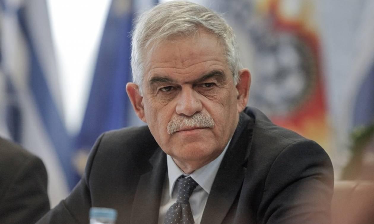 Σύσκεψη στην Αεροπορική Βάση Πυρόσβεσης στην Ελευσίνα είχαν Τόσκας-Τζανακόπουλος