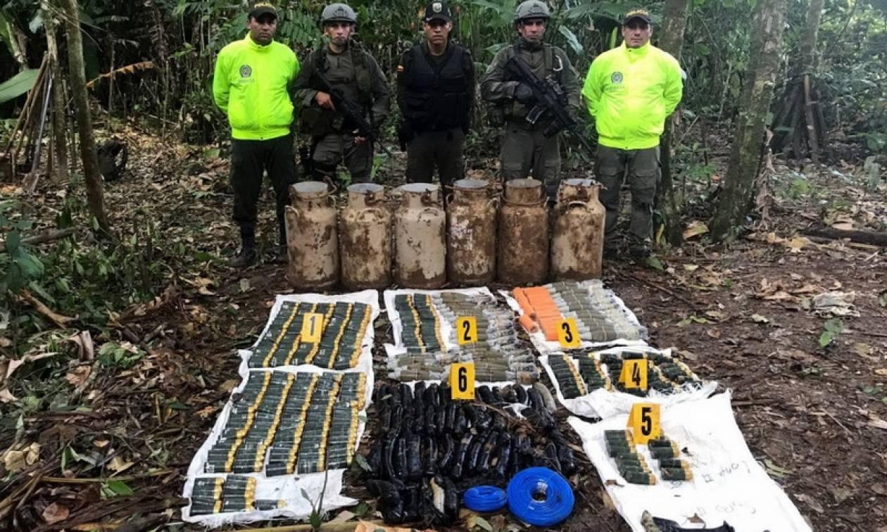 Τέλος εποχής στην Κολομβία: Ολοκληρώθηκε ο αφοπλισμός των ανταρτών της Farc
