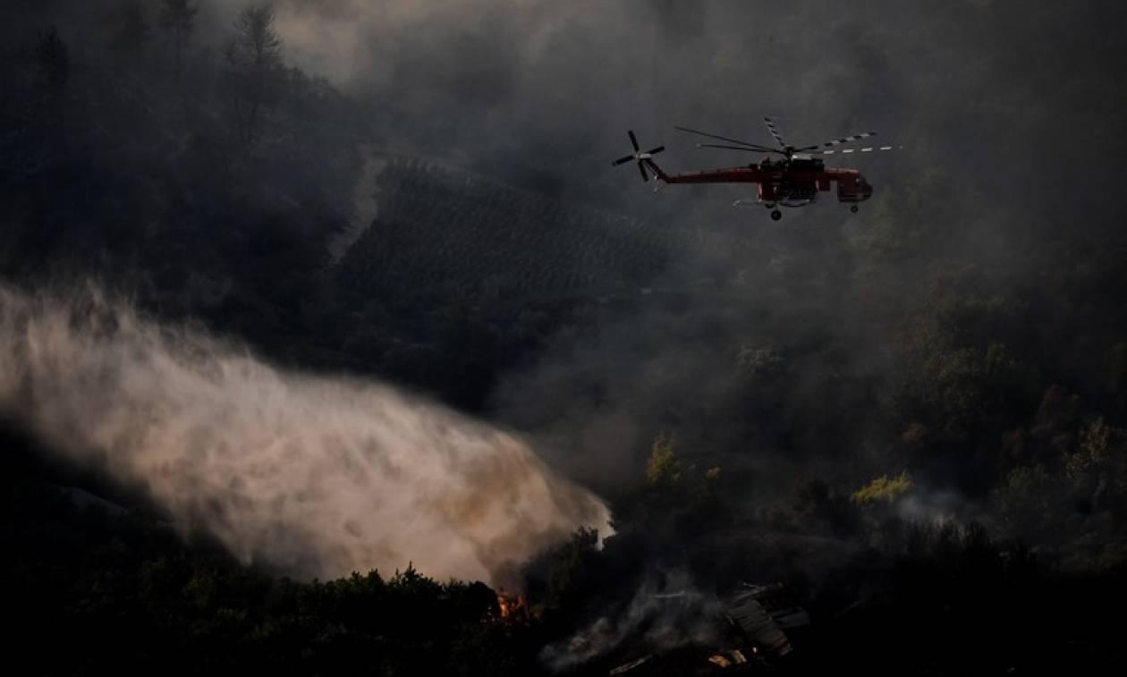 Φωτιά Live - Η Γενική Γραμματεία Πολιτικής Προστασίας προειδοποιεί: Προσέξτε ΟΛΟΙ τις επόμενες ώρες
