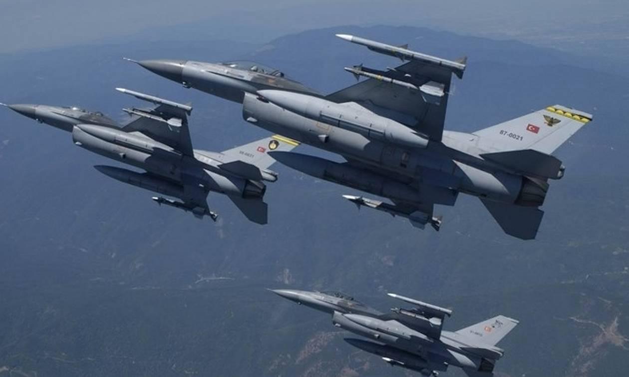 Συναγερμός στο Αιγαίο: Τρεις εικονικές αερομαχίες ελληνικών - τουρκικών μαχητικών