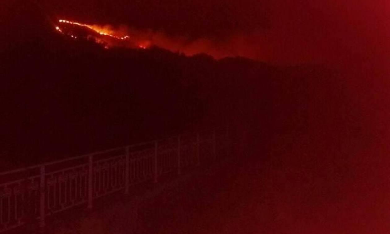 Φωτιά ΤΩΡΑ: Μεγάλη πυρκαγιά στην Κεφαλονιά - Εκκενώνονται οικισμοί