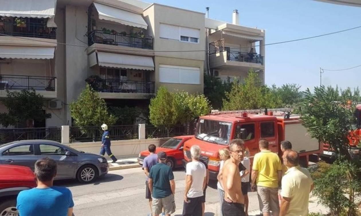 Πανικός στην Αλεξανδρούπολη: Έκρηξη σε πολυκατοικία