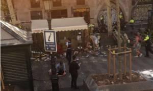Τρομοκρατική επίθεση στη Βαρκελώνη - Μακελειό! Φορτηγό έπεσε πάνω σε πλήθος