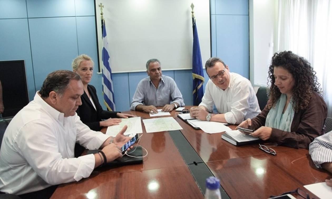 Υπουργείο Εσωτερικών: Άμεσα μέτρα για τις πληγείσες περιοχές από τις πυρκαγιές