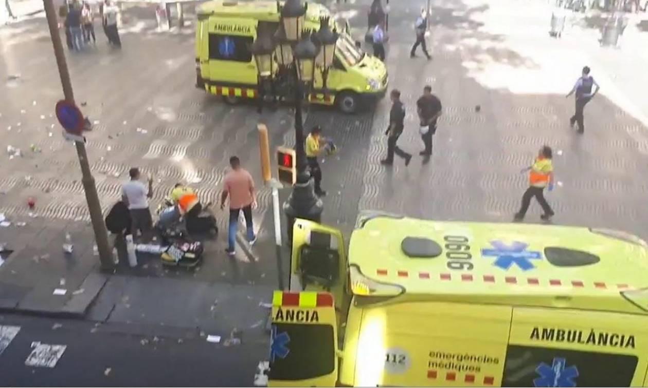 Τρομοκρατική επίθεση Βαρκελώνη: Ένοπλοι εισέβαλαν σε εστιατόριο
