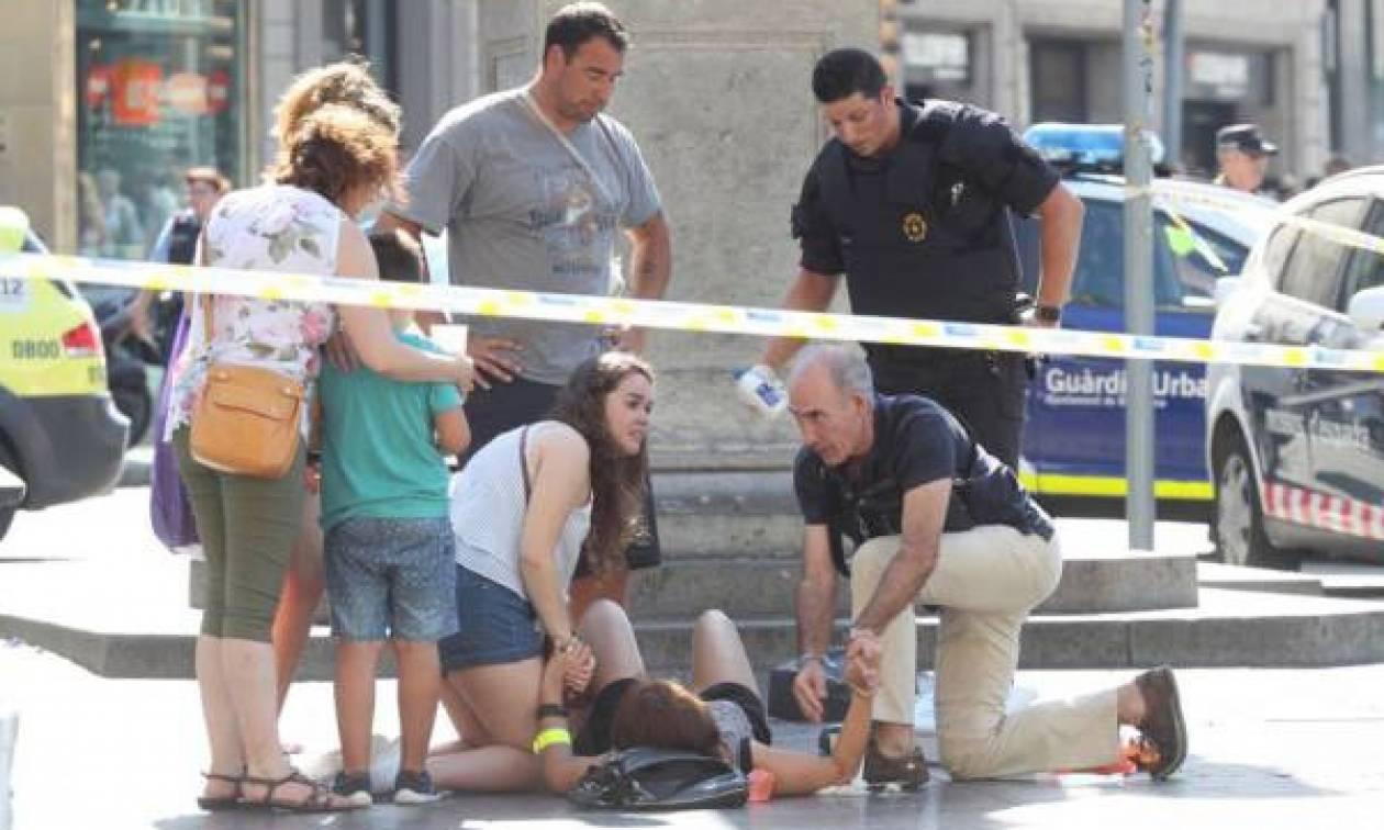 Τρομοκρατική επίθεση Βαρκελώνη: Δείτε live εικόνα από το σημείο της επίθεσης