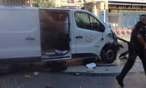 Τρομοκρατική επίθεση Βαρκελώνη: Αυτή ήταν η πορεία θανάτου του βαν (χάρτης)