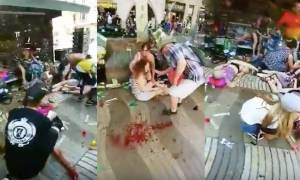 Βίντεο σοκ - Βαρκελώνη: Αίμα και νεκροί παντού