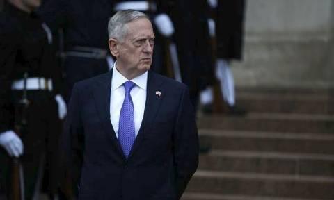 Τζέιμς Μάτις: Η Βόρεια Κορέα θα αντιμετωπίσει «βαριές στρατιωτικές συνέπειες» αν επιτεθεί
