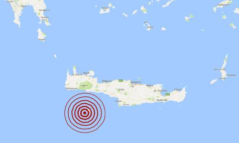 Σεισμός κοντά στη Γαύδο - Αισθητός στη νότια Κρήτη (pics)
