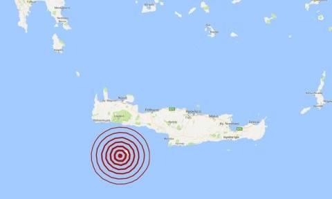 На Гавдосе произошло землетрясение 4,4 балла