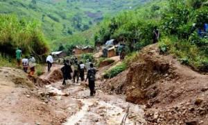 Λ.Δ. Κονγκό: Φόβοι για ασύλληπτη τραγωδία από την κατολίσθηση
