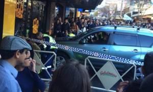 Τρόμος στην Αυστραλία: Αυτοκίνητο έπεσε πάνω σε πεζούς στο Σίδνεϋ (Pics+Vids)