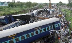 Ασύλληπτη τραγωδία στην Ινδία: Τουλάχιστον 10 νεκροί και 150 τραυματίες από εκτροχιασμό τρένου