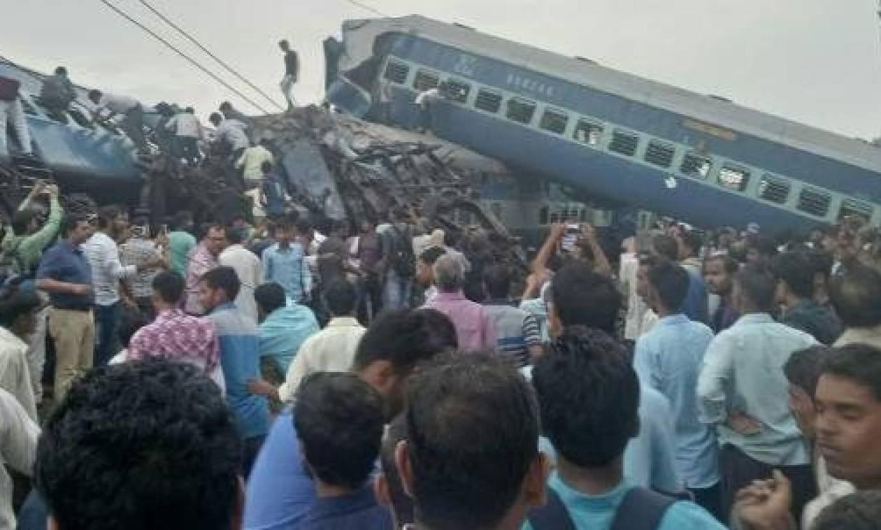 Εκτροχιασμός τρένου στην Ινδία – Αυξάνεται ο αριθμός των νεκρών