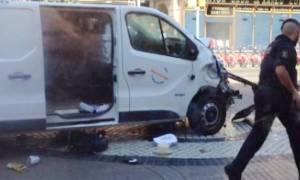 Ισπανία: Ανθρωποκυνηγητό για τον οδηγό του βαν του τρομοκρατικού χτυπήματος στη Βαρκελώνη