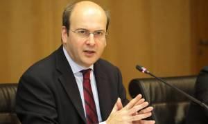 Χατζηδάκης: Αν υπήρχε σχέδιο αποσταθεροποίησης γιατί δεν το αντιμετώπισε ο Τσίπρας;