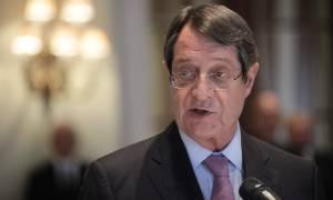 Ηχηρό μήνυμα Αναστασιάδη: H Κύπρος δεν θα μετατραπεί σε προτεκτοράτο της Τουρκίας
