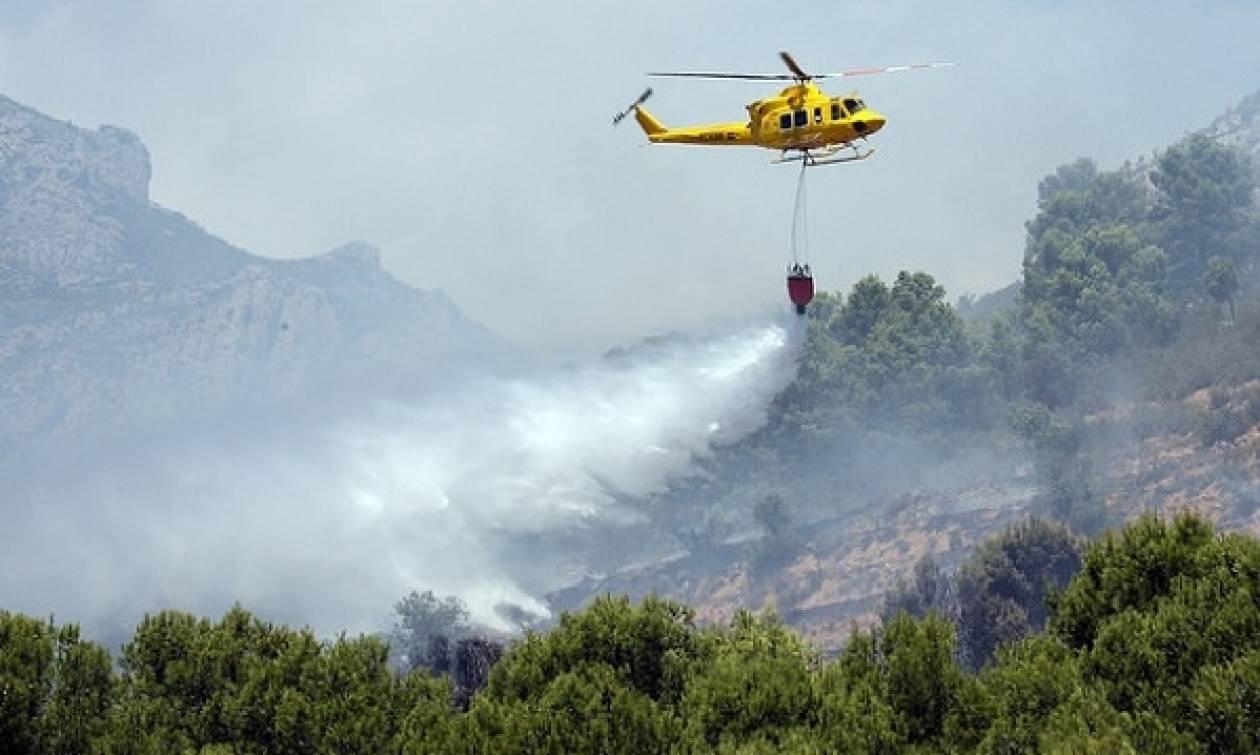 Φωτιές Πορτογαλία: Συνετρίβη ελικόπτερο - Νεκρός ο πιλότος