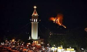 Μεγάλη πυρκαγιά κοντά στην πόλη της Ζακύνθου