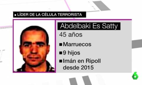 Τρομοκρατική επίθεση στη Βαρκελώνη: Ο ιμάμης του θανάτου είχε επισκεφτεί Βέλγιο, Γαλλία και Μαρόκο