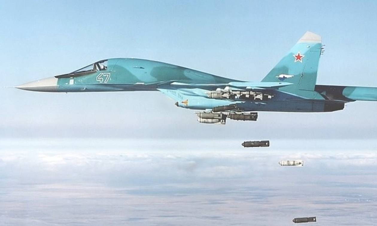 Συρία: Ρωσικό πολεμικό σκοτώνει 200 τζιχαντιστές (video)