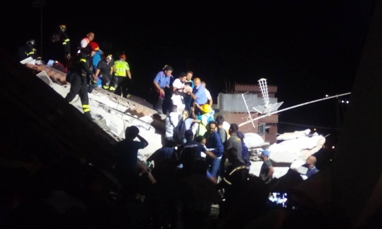 Σεισμός Ιταλία: «Θαύμα» κάτω από τα ερείπια – Ανέσυραν ζωντανό βρέφος επτά μηνών (Pic)