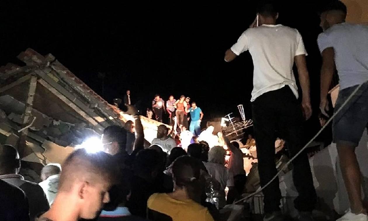 Σεισμός Ιταλία: Δύο νεκροί και δεκάδες τραυματίες - Παιδιά θαμμένα στα ερείπια (Pics+Vids)