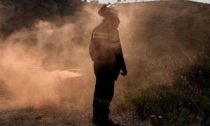 Πυροσβέστης τραυματίστηκε στο κεφάλι από πτώση βράχου στη Ζαχάρω
