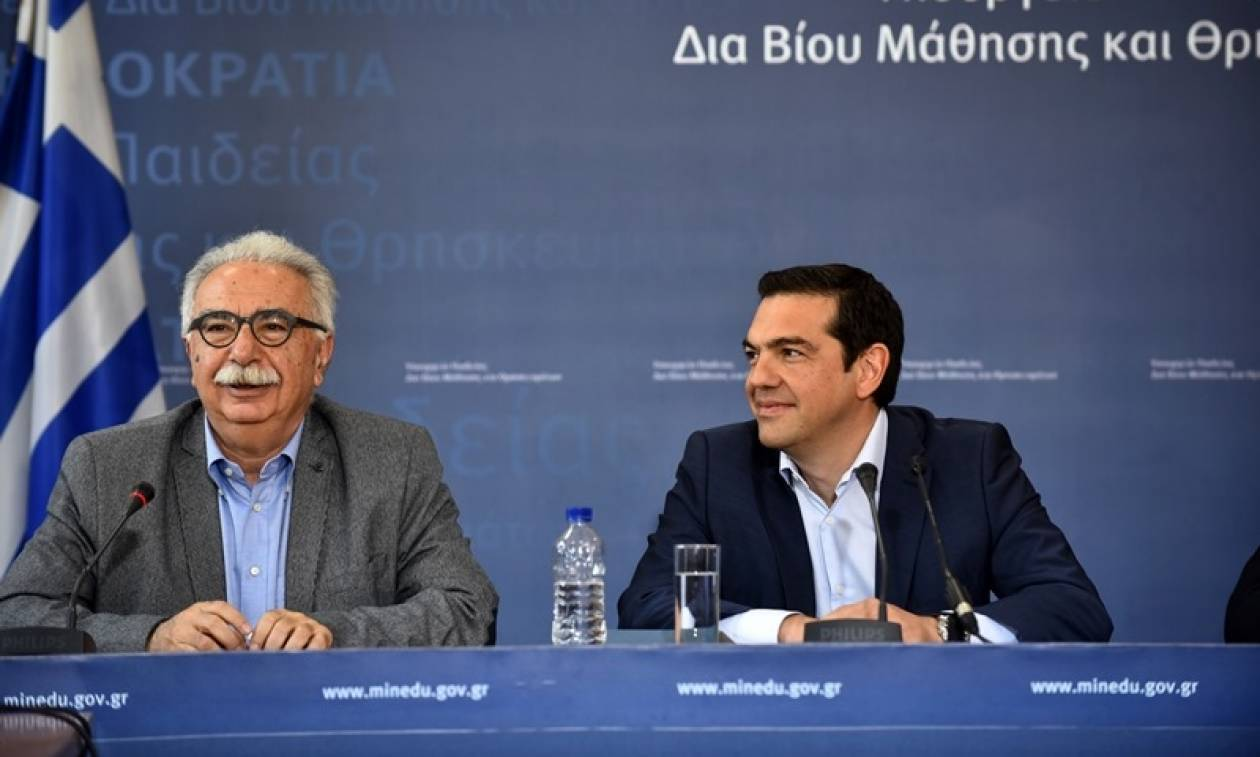 Το ζήτημα των πανελλαδικών εξετάσεων στη συνάντηση Τσίπρα-Γαβρόγλου