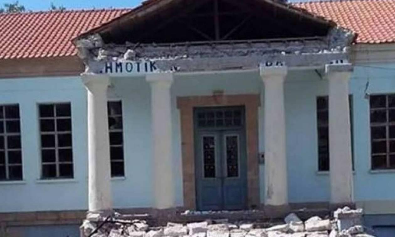 Μυτιλήνη: Επισκευές στα σχολεία - Προκατασκευασμένες αίθουσες αποστέλλει το υπ. Υποδομών