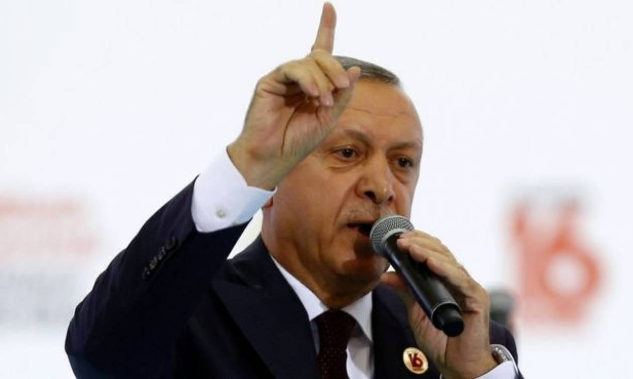 Ερντογάν: Δεν θα επιτρέψουμε ποτέ κουρδικό κράτος στη βόρεια Συρία