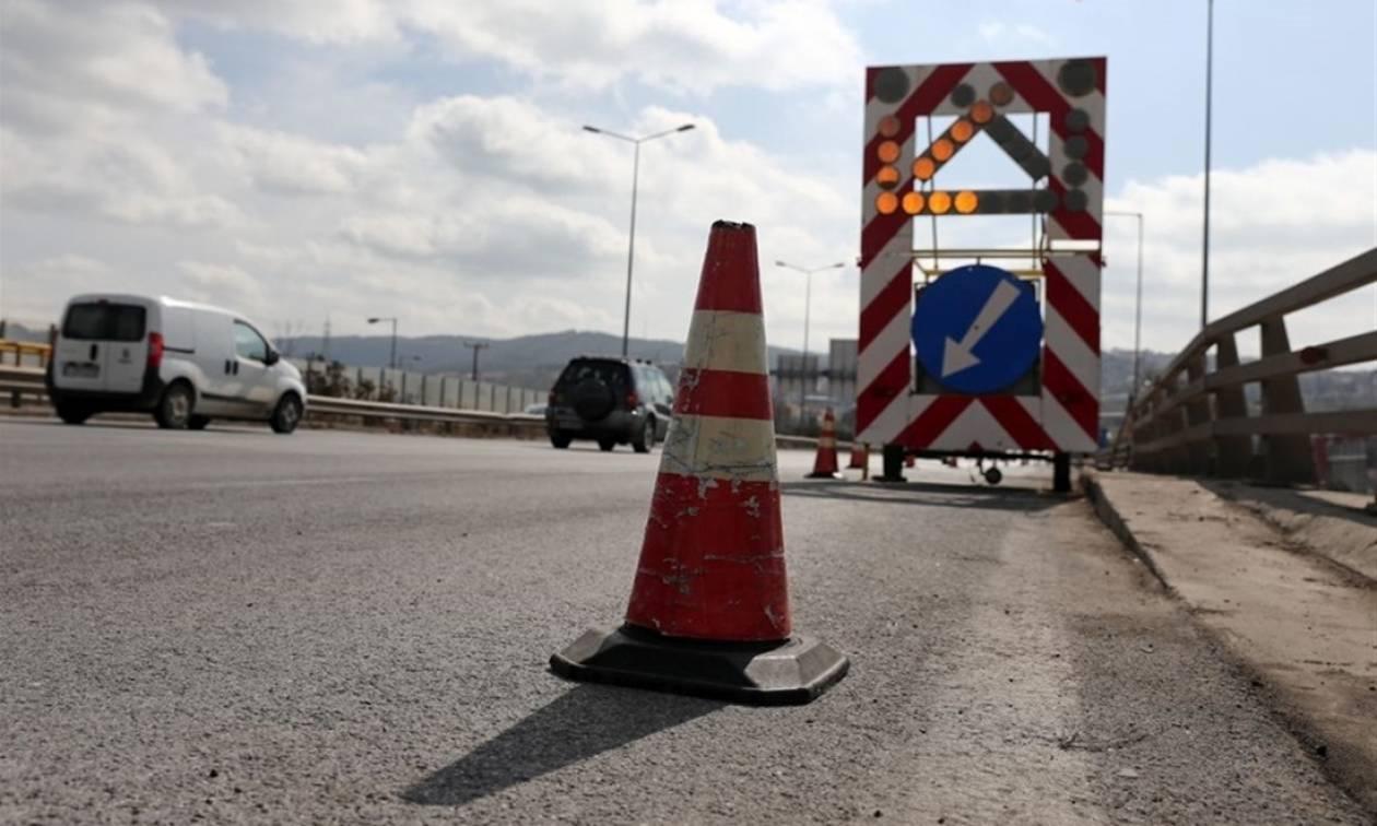 Προσοχή! Κυκλοφοριακές ρυθμίσεις στην εθνική οδό Θεσσαλονίκης-Αεροδρομίου
