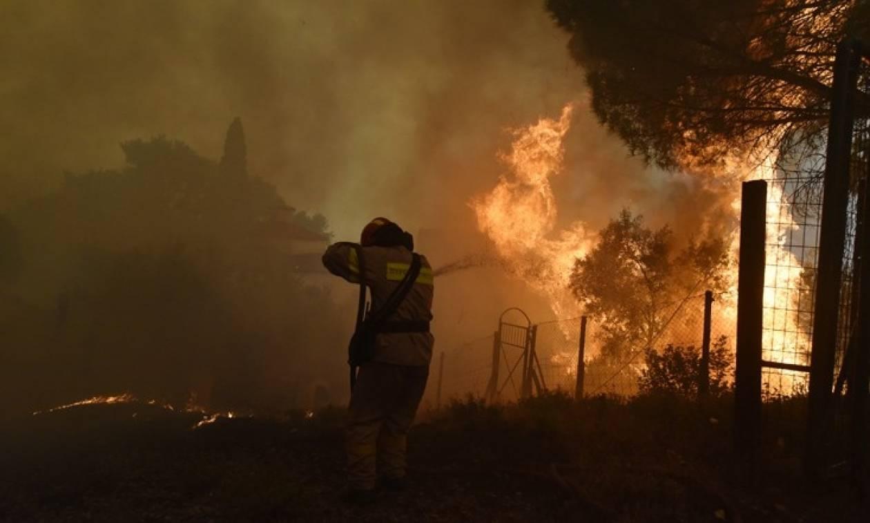 Φωτιά Κέρκυρα: Σε ύφεση οι τρεις πυρκαγιές που ξέσπασαν το απόγευμα της Τρίτης (22/8)