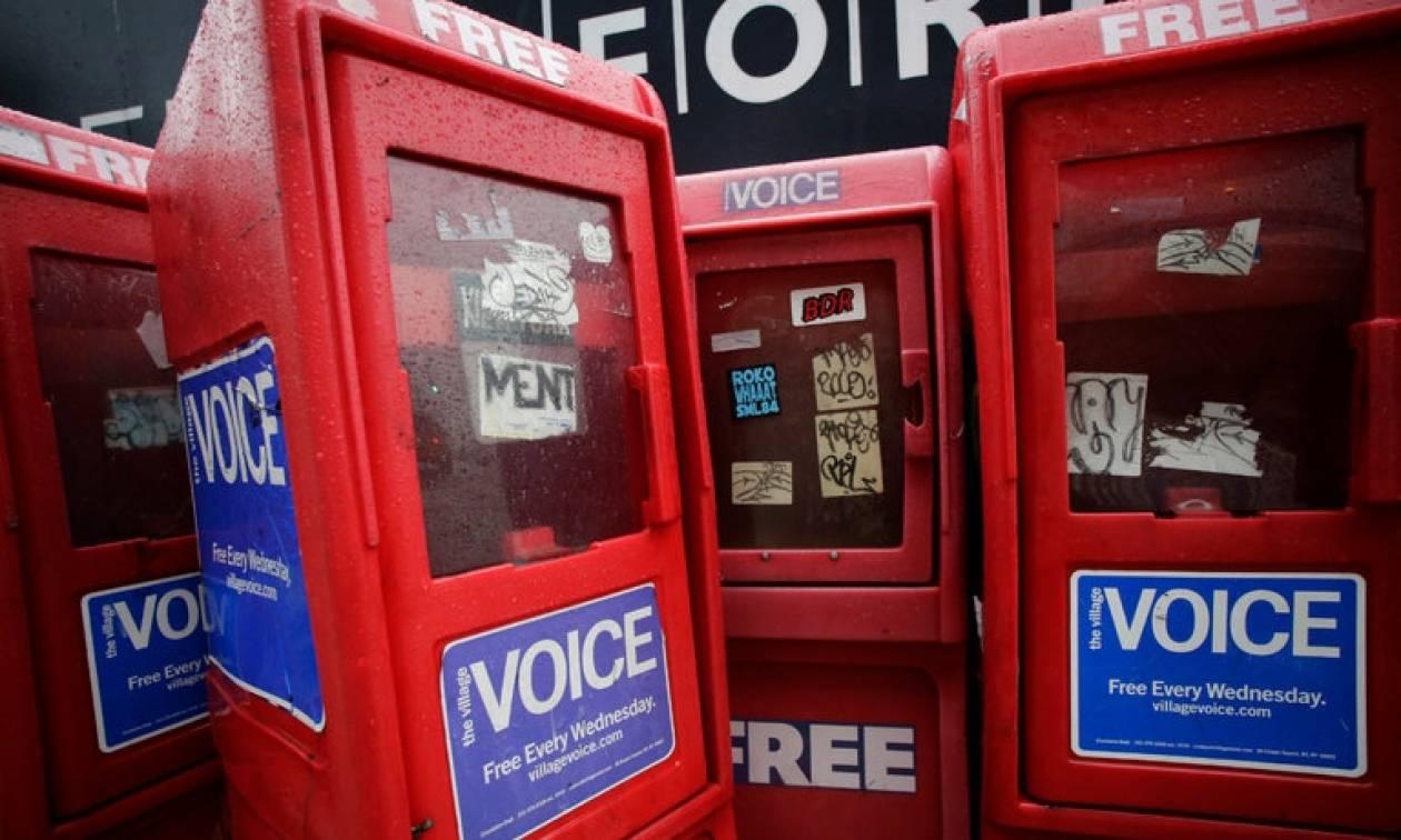 Village Voice: Τέλος εποχής για την ιστορική εφημερίδα που άλλαξε τον τρόπο που διαβάζουμε ειδήσεις