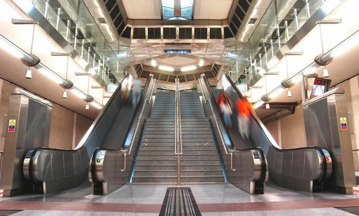 Συναγερμός στο σταθμό του Μετρό «Αγία Μαρίνα»