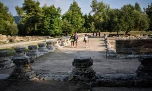 Θραύσμα μαρμάρινου αγωγού από την Αρχαία Ολυμπία επιστράφηκε στην Ελλάδα