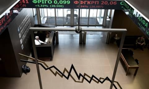 Greek stocks end lower