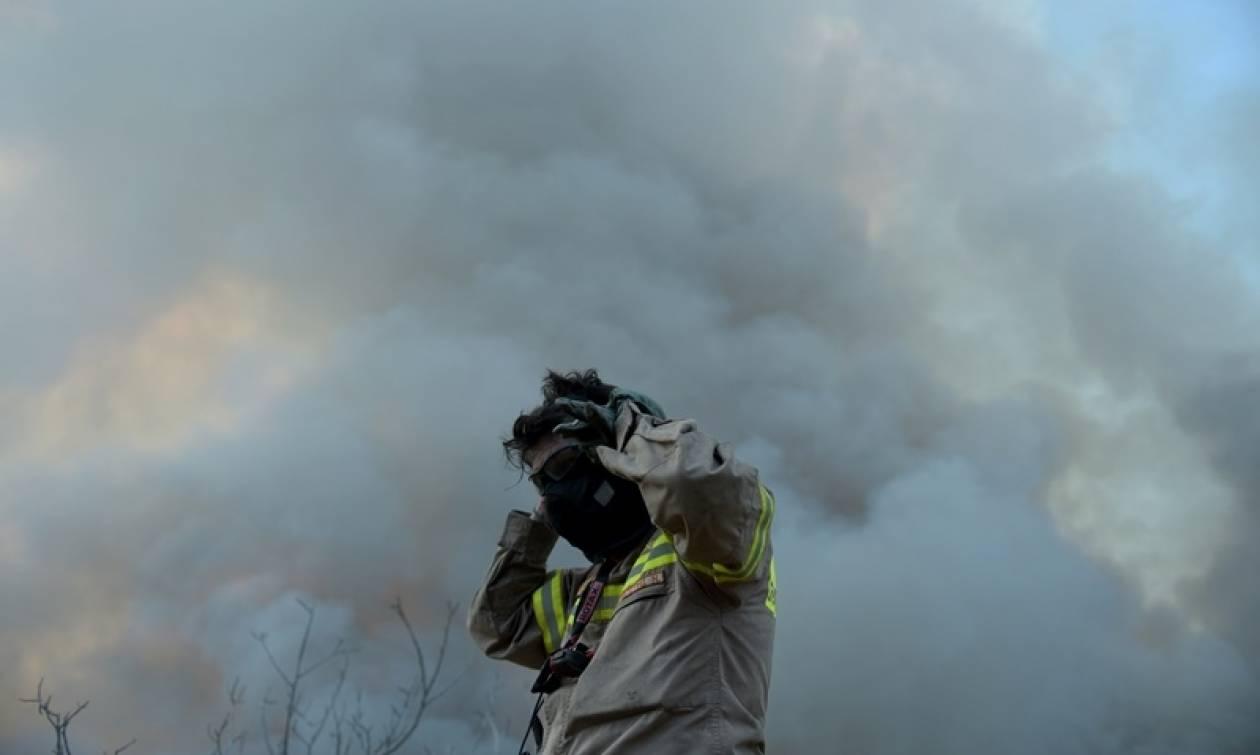 Φωτιά-ΤΩΡΑ: Πυρκαγιά στο Δεμάτι Ηρακλείου
