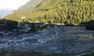 Ελβετία: Δεκατέσσερις άνθρωποι αγνοούνται μετά την κατολίσθηση στις Άλπεις (vid)