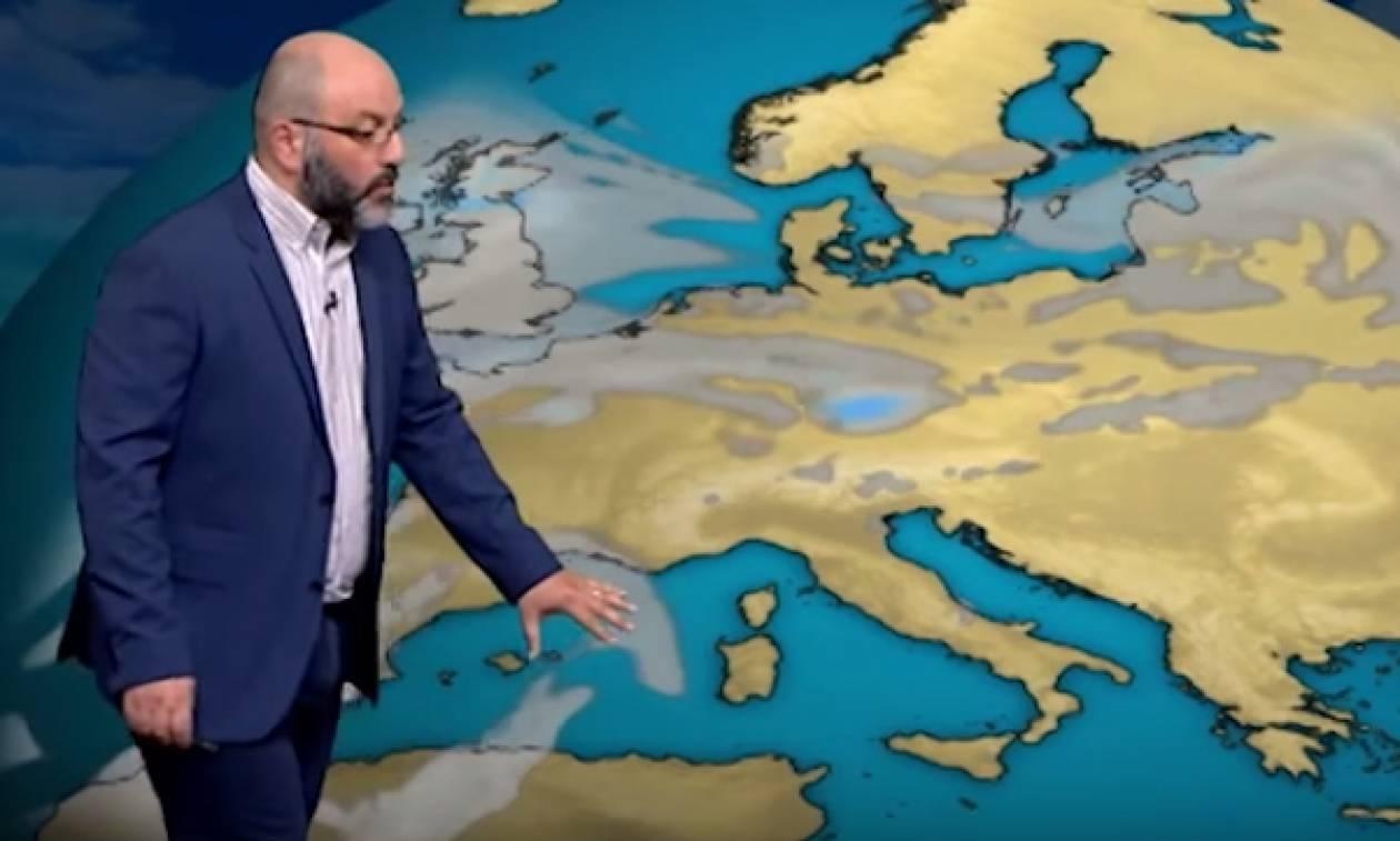 Καιρός: Ερχεται μίνι καύσωνας; Η εκτίμηση του Σάκη Αρναούτογλου (video)