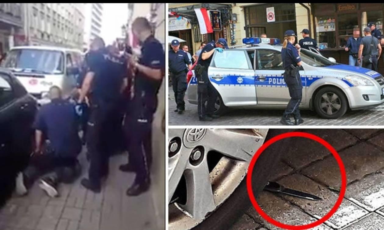 Πανικός στη Βαρσοβία: Μαχαίρωσαν αστυνομικό έξω από συναυλιακό χώρο (pics+vid)