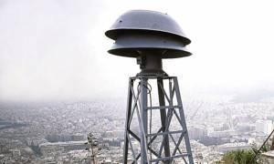 Ήχησαν οι σειρήνες στην Αθήνα